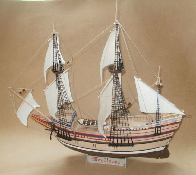 Mayflower in 1/150 Finished