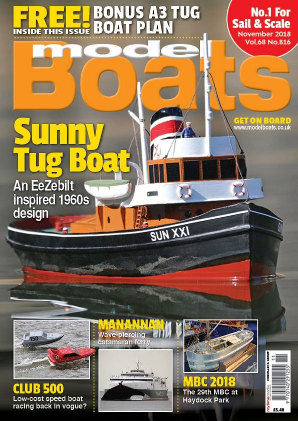 Model Boats November 2018 - Magazine Covers and Contents