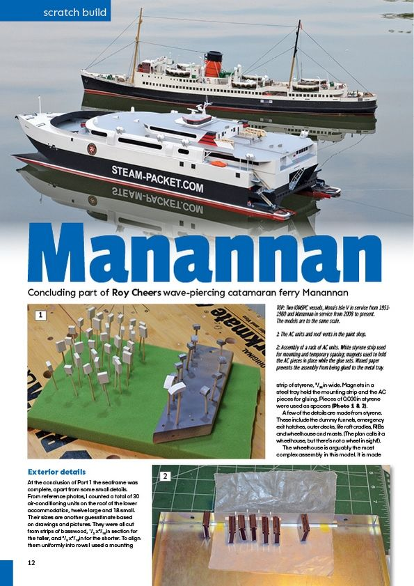 Model Boats December 2018 - Magazine Covers and Contents