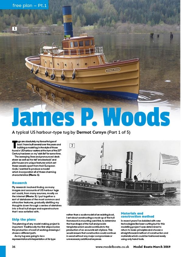 Model Boats March 2019 - Magazine Covers and Contents