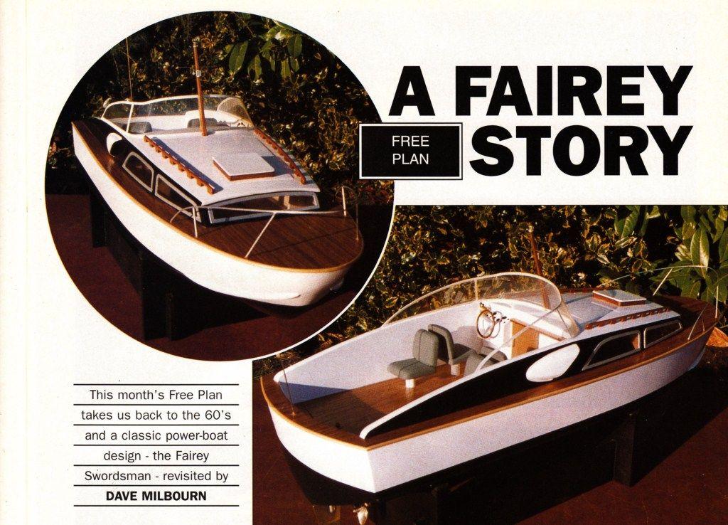 Fairey Swordsman Plans | Model Boats