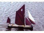 The HFM Marine Thames Barge. A nice kit and it got me back into model boating.