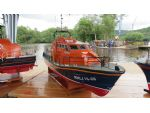 RNLB Grace Dixon, a Tamar class lifeboat built from a kit by Ken Pheasey.