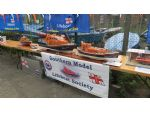 The Southern Model Lifeboat Society in the form of Tony Olliff came along to support the event.