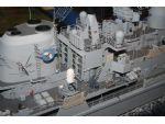 The detail work on this award winning HMS Manchester by Geoffrey Taylor is outstanding.