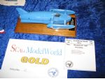 K7 better known as Bluebird to scale of 1:43 (7mm to the foot) gained a gold award.