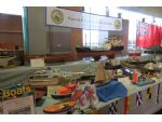 Runcorn and District Scale Model Boats had a stand showing a wide range of models.