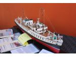 A fine model of the MV Balmoral by Roy Whitton.