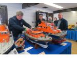 Lifeboat enthusiasts support many events and are also keen to demonstrate their models.