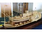 A truly beautiful and amazing model of the American side-wheeler Natchez by Vladimir Churilin of the Federation of Ship Modelling Sport of Russia.
