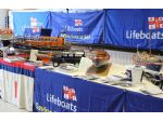 The well laid out RNLI stand