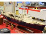 Ray Scrivens presented his superb example of HM Royal Yacht Britannia.
