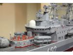 A superbly detailed and complex model of the Soviet Udaloy 2 Class destroyer Admiral Chabanenko built by Richard Motyka.