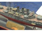Entered in Kit Class at 1:700 scale was this model of the Russian armoured cruiser Rurik and yes, this goes to show what can be done with a kit!
