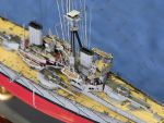 An astonishing amount of detail on this 1:700 scale model of HMS Dreadnought by Vladimir Makarichev.