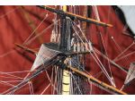 Rigging complexity on HMS Agamemnon