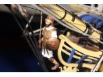 HMS Agamemnon's warrior figurehead