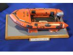 Alan Poole's Y class lifeboat was awarded the RNLI Trophy