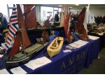 The Association of Model Barge Owners was just one of several club stands.