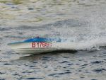 B176: Malcolm Beesley's winning boat. (photo by Judith Beesley)