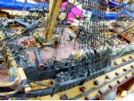 Richard Harris' fine model of HMS Victory.
