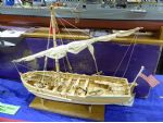 Richard Harris' model of Gunboat No. 5, purchased originally from an antique shop.
