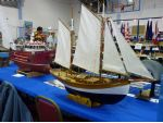 Jenny Edwards, restored by Elizabeth Jones and winner of the rigged and sail section of the competition.
