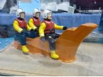 Models by Design now supply a range of 1:12 scale figures, including this intrepid lifeboat crew.