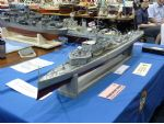 An unusual subject on the Surface Warships Association stand was HMS P28, a P class patrol boat from 1916, built by Tom Butler.