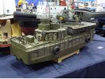 Bob Allison's Vietnam War era river patrol boat on the York MBC stand. Those of you who are into landing craft will recognise that it is based on what was a WW2 LCM 3 hull, a common conversion in the 1960s.