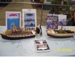 Leonard Treppa's Orca and African Queen at Hobby-Rama