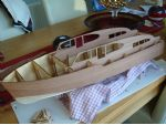 Photo 8 The veneered cabin sides need to be carefully fitted and glued in place.bin sides fitted.jpg