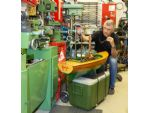Jerry Clement and his workshop - something that many readers would want in an ideal world.