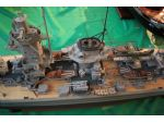 Amidships view of Robin Lee's Admiral Graf Spee built on a Fleetscale hull.