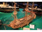 What can you do with matchsticks? David Reynolds shows us with his HMS Victory.