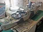 HMS Poppy nearly completed.