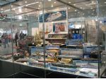 Revell were well represented will their extensive and expanding range of ship and submarine kits.
