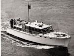 Big sister! The Thornycroft 45ft motor yacht Melisita was a larger contemporary to Dubarry but built to a similar design.