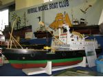 Wirral MBC are one of the original four clubs that supported events here in the late 1980's just after the opening of the museum. This is a 1:48 scale model of the buoy handling vessel Vigilant.