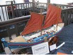 Les' Jones entered this exceptionally fine model of the Princess of Wales lifeboat winning a gold award and Best in Show.