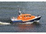 The Tamar class RNLB Enid Collett, currently on station at Shoreham, Sussex.