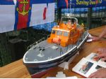 Second place in Scratch Class for Alan Wilson's RNLB Helmet Schroder Of Dunlossit, 50-002. This was a Thames class lifeboat of which six were ordered, but only two delivered. These two operated from 1974 to 1997.