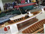 The Swiss steam yacht Der Seekadett built by Arthur M. Barlow who is a member of The Ship Modelling Society.