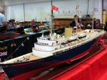 A superb model of HMY Britannia.