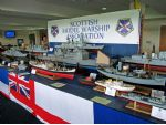 The Scottish Model Warship Association always make a big effort to put on a great display at the Model Boat Convention and yes, they also build non-warships!