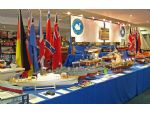 The Kirklees MBC stand. In the foreground left is Stan Reffin's much modified and improved German minesweeper kit.