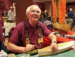 Bill Richardson gave a model building demonstration throughout the weekend, something that was of great interest to the visitors and the modellers.