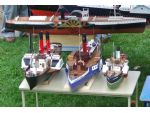 Paddle steamers of all shapes and sizes attended.