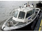 Thames Trainer, the last 'traditional' police launch in service.
