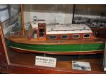 Model of the first Sir Robert Peel, a converted RAF seaplane tender.